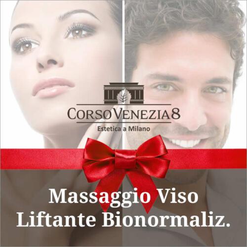 Massaggio liftante viso donna e uomo