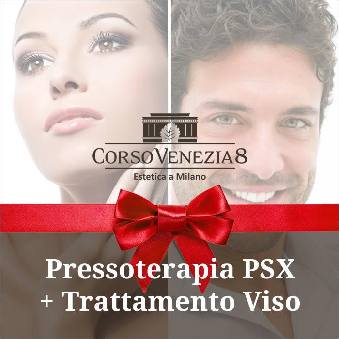 Pressoterapia PSX e trattamento viso donna e uomo