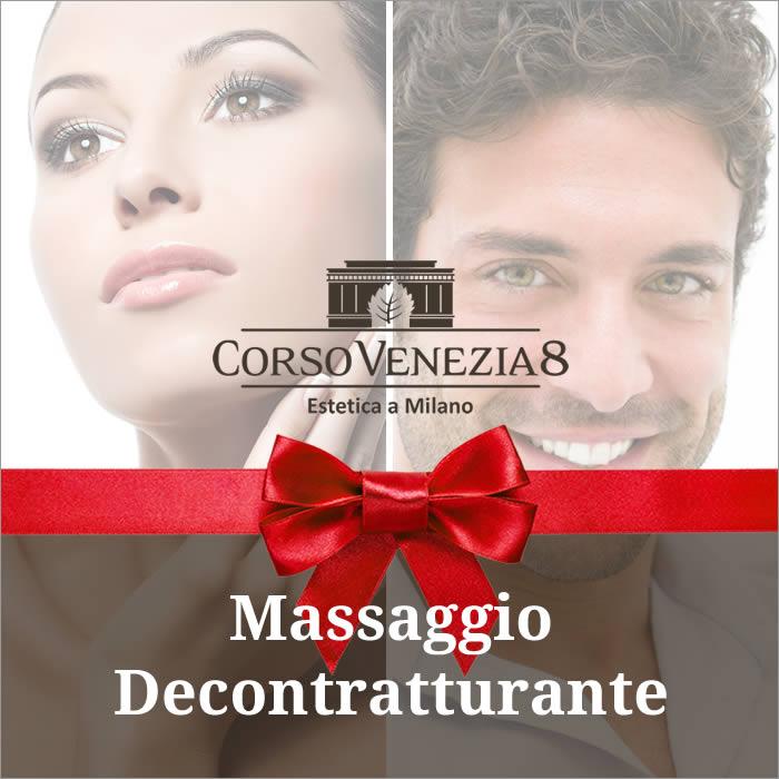 Massaggio corpo decontratturante donna e uomo
