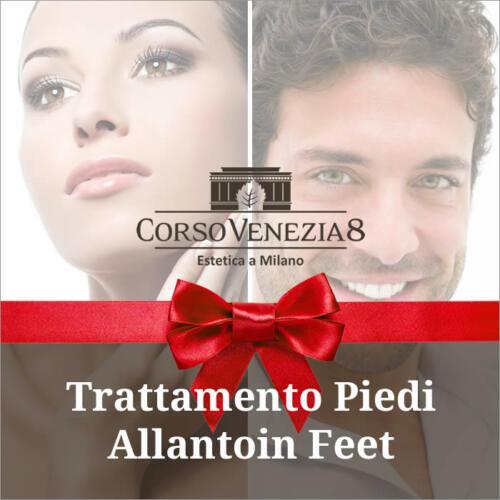 Trattamento piedi Allantoin Feet donna e uomo