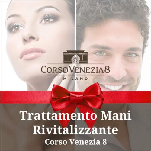 Trattamento mani rivitalizzante Corso Venezia 8