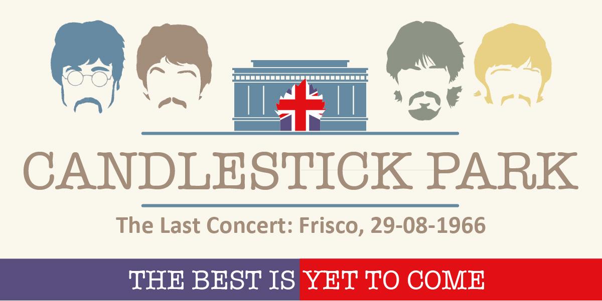 Ultimo concerto dei Beatles a Candlestick Park, 50 anni fa