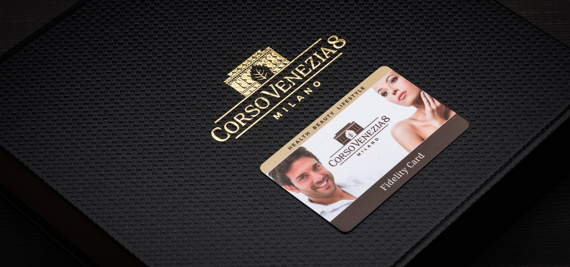 Fidelity card con cofanetto