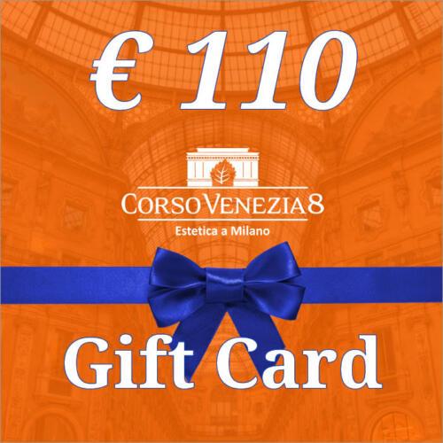Gift Card Corso Venezia 8 del valore di €110
