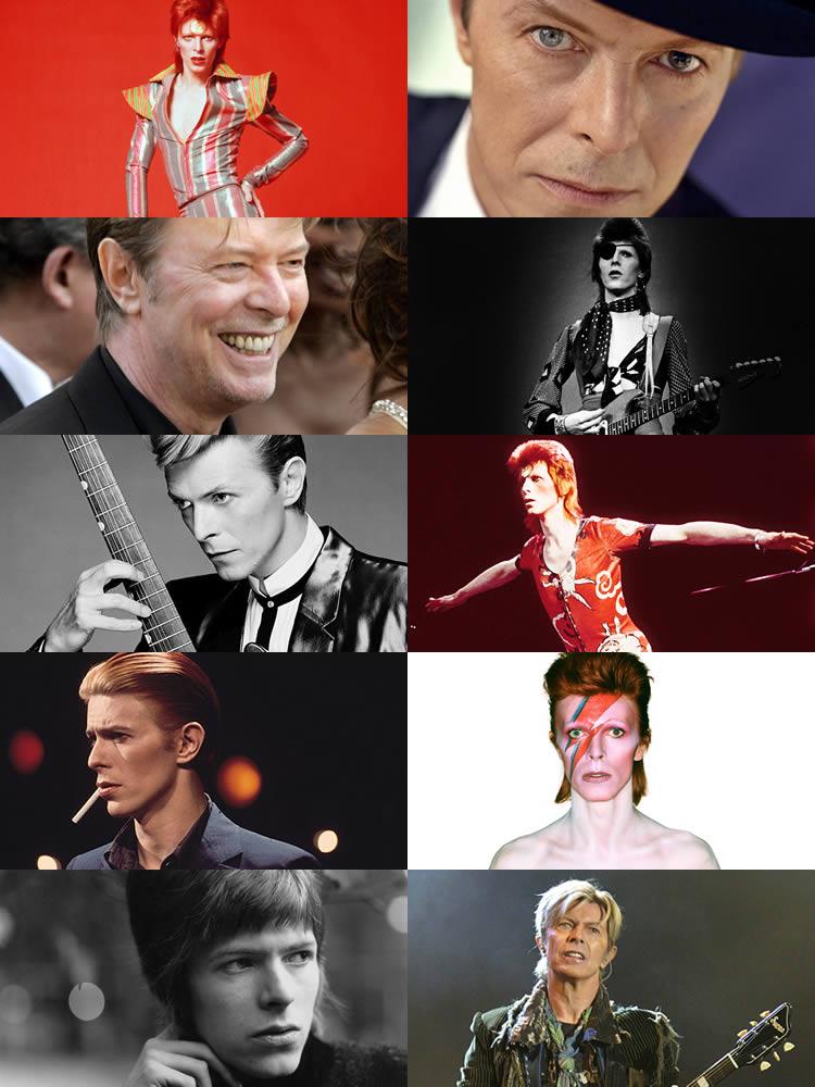 I tanti volti di David Bowie
