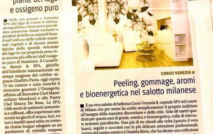 Corso Venezia 8 sul quotidiano