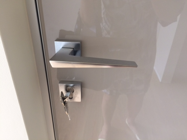 Dettaglio maniglia della porta
