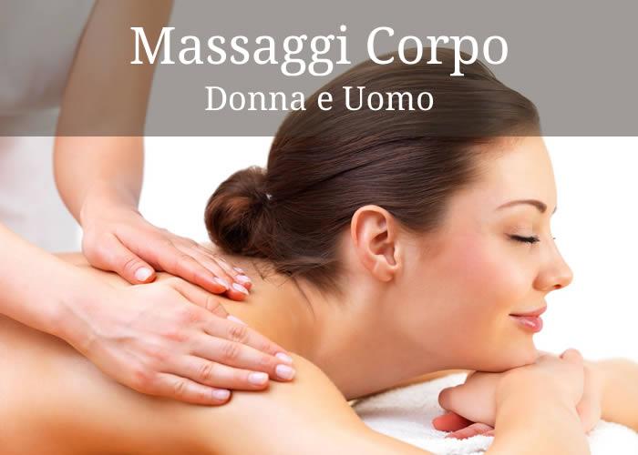 Massaggi Corpo Donna e Uomo