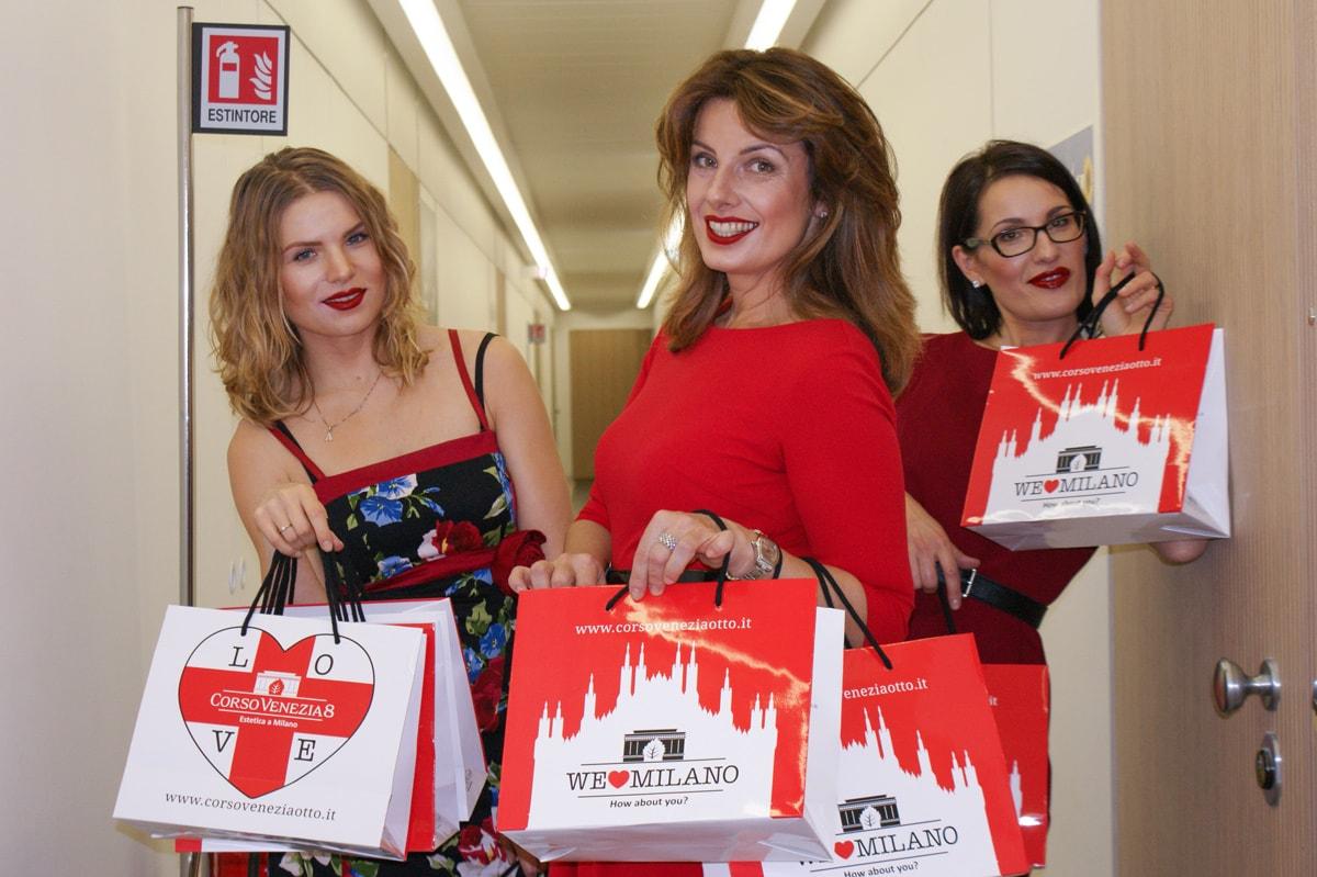 """I nuovi shopper """"Milano"""" di Corso Venezia 8"""