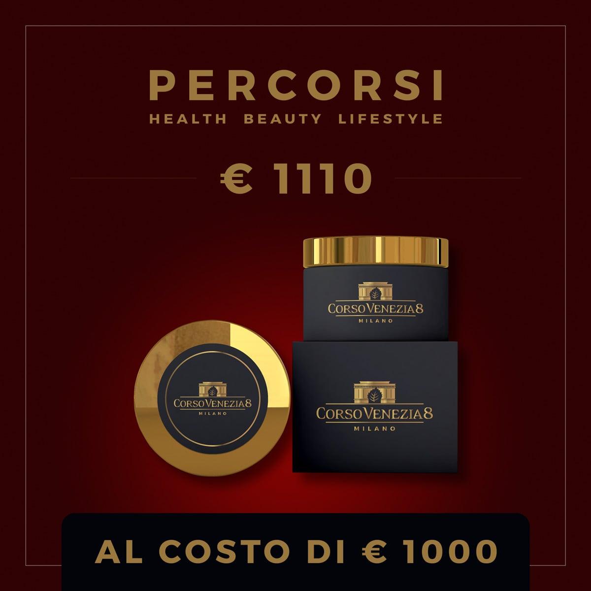 Percorsi Estetici - Voucher € 1110