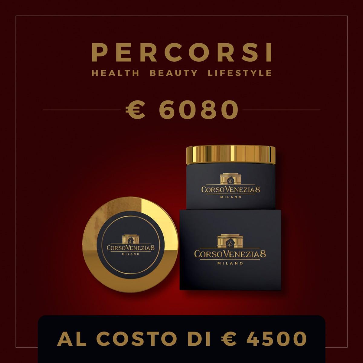 Percorsi Estetici - Voucher € 6080